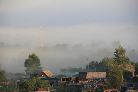 Из тумана. 2011г.