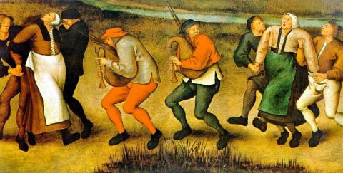 Танцующая чума в Средневеков…
