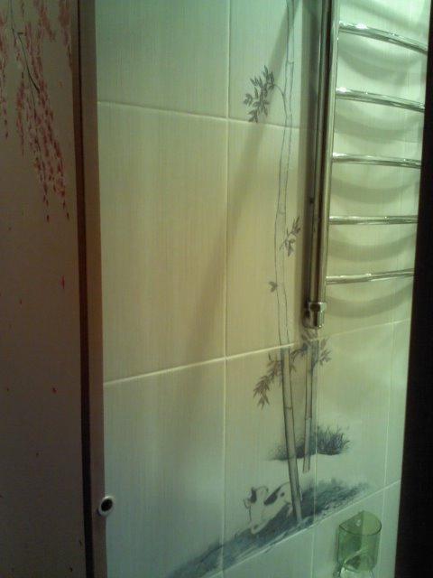 Роспись коридора и ванной