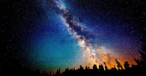 Звездное небо, которое мы ви…