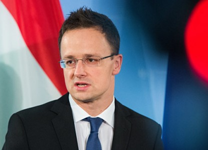 Глава МИД Венгрии Петер Сийя…