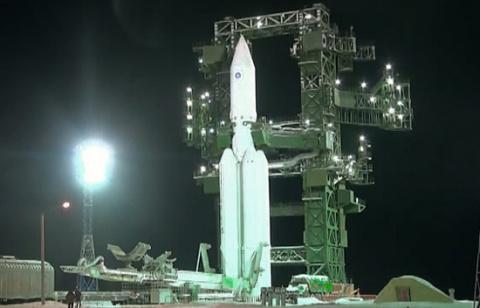 """Успешный первый запуск тяжелой ракеты-носителя """"Ангара-А5"""""""