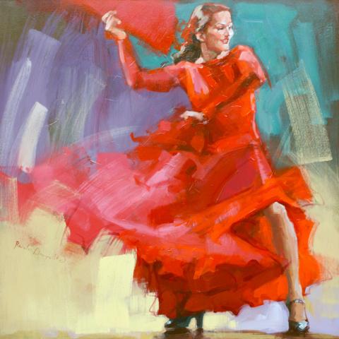 Рената Домагальска  Фламенко