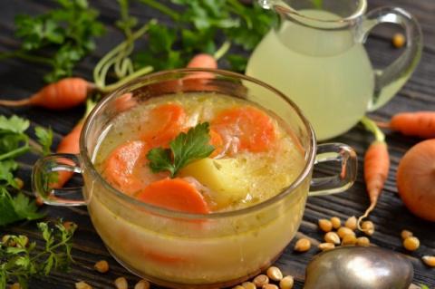 Овощной суп на молочной сыворотке «Сырбушка». Просто и вкусно!