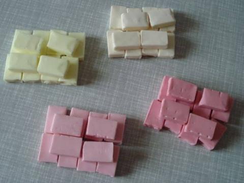 Украшения для десерта из жевательных конфет
