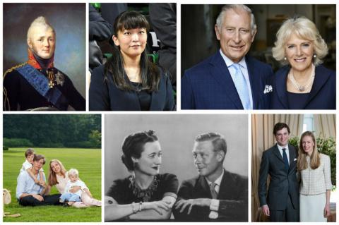Любовь сильнее власти и титулов или все могут короли (11 фото)