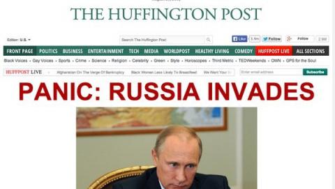 Паника: русские инвадят!