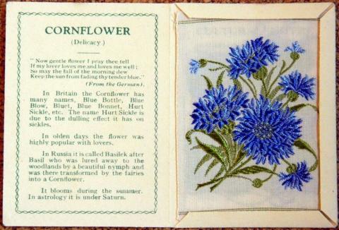 Вышитые цветы — рекламная уловка 1930-х