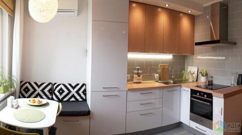 Квартира с необычной планировкой и бюджетным ремонтом