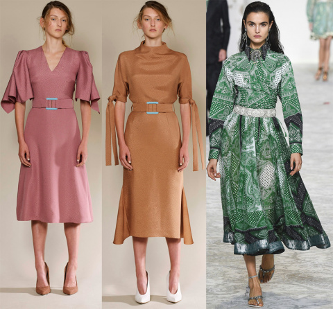 Красивые платья 2018 для скромных девушек