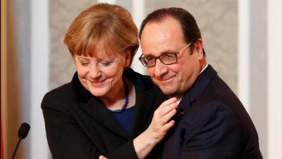 Олланд и Меркель выступили п…