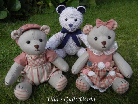 Симпатичных мишек Тедди сшит…