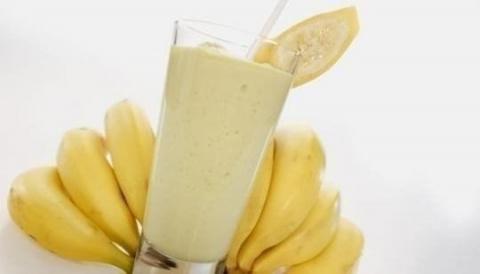 Банановый мусс-коктейль