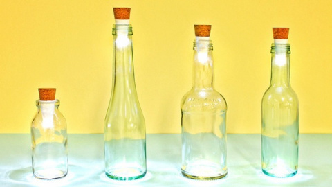 Необычная пробка обычной бутылки