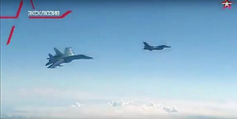 Как истребитель НАТО Шойгу перехватывал