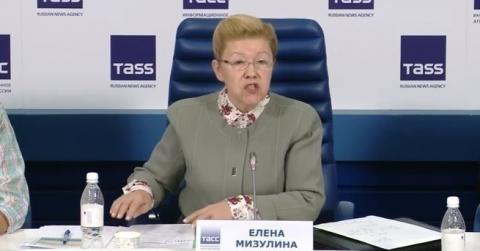 """ЕЛЕНА МИЗУЛИНА: """"В РОССИИ СУЩЕСТВУЕТ НА ВСЕХ УРОВНЯХ ОЧЕНЬ СЛАЖЕННОЕ ЮВЕНАЛЬНОЕ ЛОББИ"""""""
