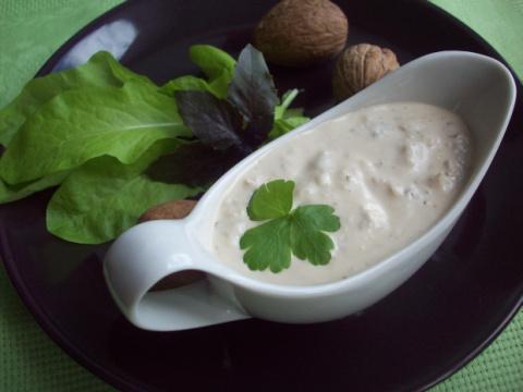 Сливочно-ореховый соус. Идеальное дополнение к овощам!