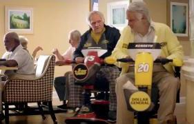 «На стареют душой ветераны» в рекламе NASCAR