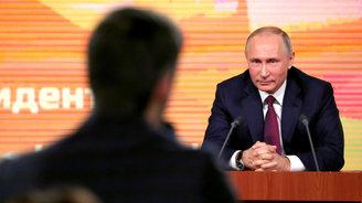 Украинцев возмутило хамство журналиста Цымбалюка на пресс-конференции Путина