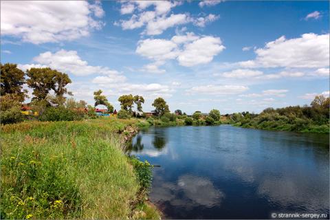 Матушка река