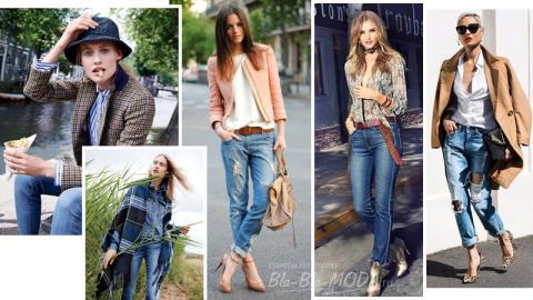 12 новых идей, что носить с джинсами осенью