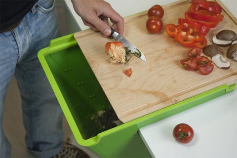 Круговорот отходов на кухне