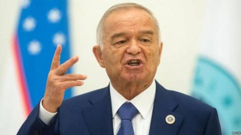 Каримов в центре Москвы и Россия в Узбекистане