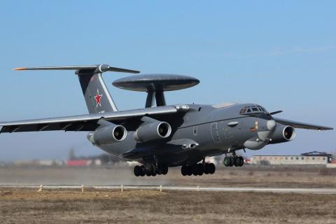 """Российский """"летающий радар"""" …"""