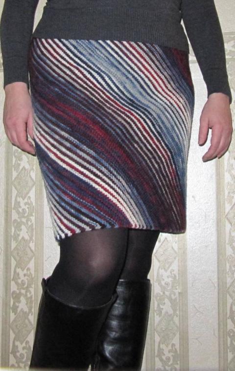 Моя полосатая юбочка