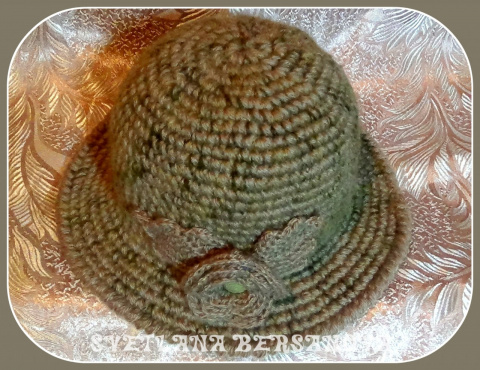 Как связать простую шляпку на осень?