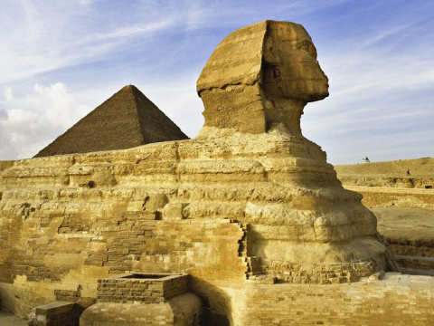 Египетский сфинкс охраняет древние тайны