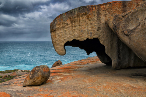 Поразительные скалы острова Кенгуру