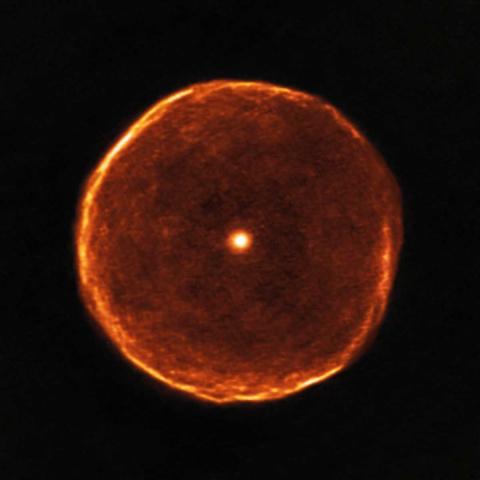 Телескоп получил снимок необ…