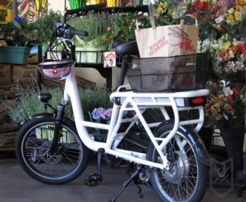 Грузовые электро-велосипеды …
