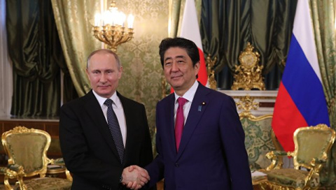 Абэ рассказал об итогах встречи с Путиным