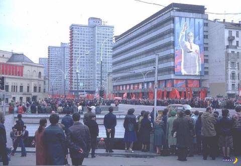 Москва 1982 на фото