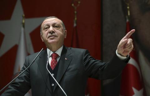 Эрдоган: «инцидент с портрет…