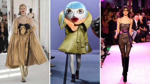 6 самых странных коллекций парижской Недели моды
