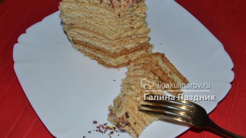"""Медовый торт """"Ночная серенада"""""""