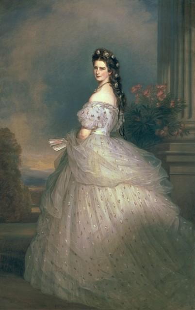 Личности в портретах: Елизавета Баварская