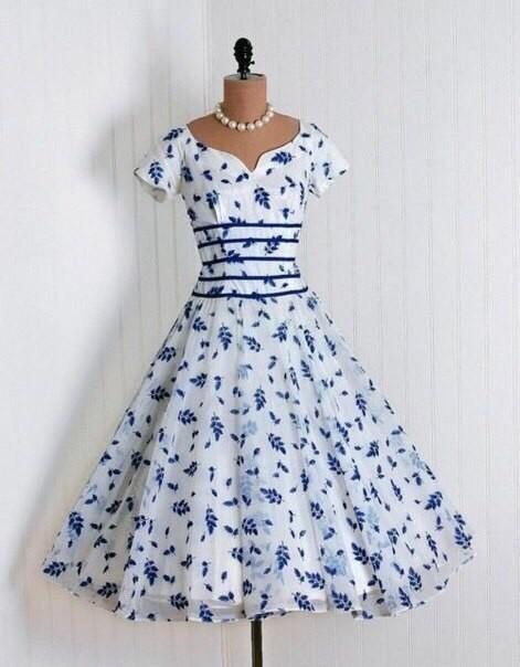 Винтажные платья. Очень женс…