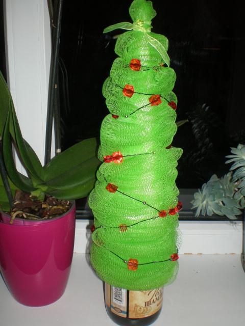 Креативная елка из оригами
