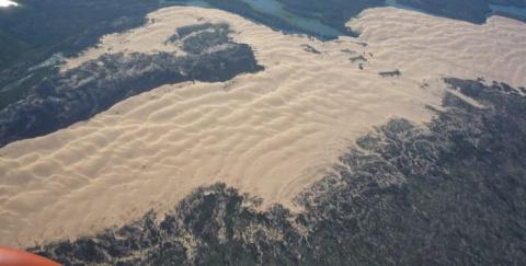 Песчаные дюны в тайге — уник…