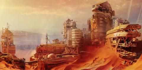 ОАЭ собираются построить город на Марсе