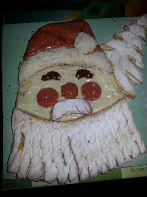 Мой торт Дед Мороз - Наполеон
