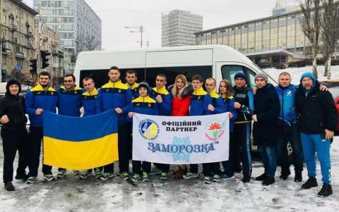 Сборная Украины отправилась …