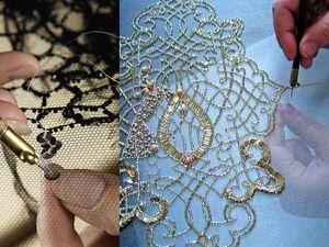 История возникновения люневильской вышивки