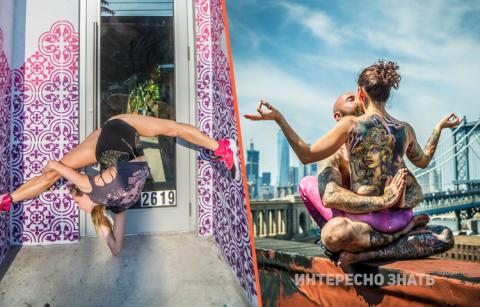 Йога и Город: Хаос и медитация в уникальном фотопроекте