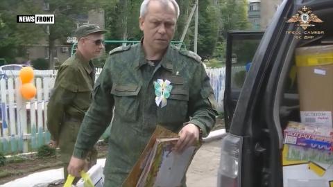 Басурин — «героям АТО»: с позорным праздником вас поздравляет Донбасс!