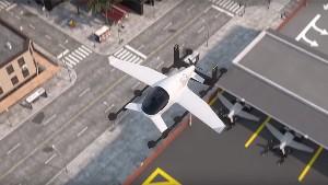 Летающие автомобили-такси по…